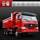 China Sinotruk HOWO 6x4 dump truck for sale.