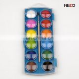Hot selling cheap dry watercolour tablet,Box,24*9.4*1.6cm,cake, 3cm