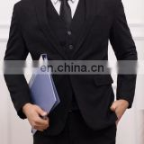 wholesale business suits- Custom Made Dark Blue Men Suit Men Slim Fit Wedding Suit