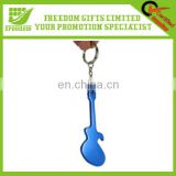Guitar Shape Beer Bottle Opener Keyring