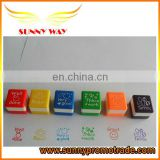 cute high quality rubber stamps sets