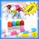 promotional capsule highlighter ballpoint ball pen