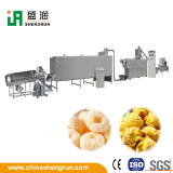 Cereal Puffs Snacks Food Extruder Processing Line