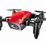 WIFI APP control rc drone quadrocopter folding drone with camera 640*480 pixels