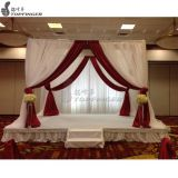 telescopic backdrop canada pipe and drape kits for wedding mandap decoration