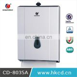 N-Folded Hand Towel Dispenser Wall Mounted Hand Paper Dispenser Toilet Tissue Dispenser CD-8035A