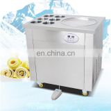 fast cooling cooper pipe panasonic compressor single pan fruit ice cream machine