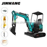 Low price mini excavator post hole digger made in China