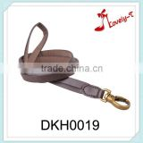 Fashion leather key chain rope customized wholesale custom leather key chain,neck hanging leather key chain