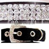 Newest wholesale rhinestone dog collar/Pet collar /Cat collar for beauty pet