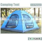 Good Quality Four Person Automatic Double Layer Camping Tent