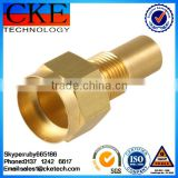 Custom Knurling Turned Parts & Precision Brass CNC Machining Service