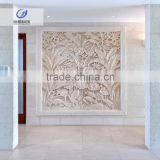 carved wood Haisun Eco Stone Wall Art