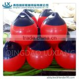 luxiang brand UV resistance blue/white inflatable pvc boat buoy fender