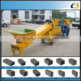 Low price and portable various shape available lightweight block machine