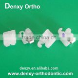 High quality orthodontic brace dental bracket ceramic self ligating bracket