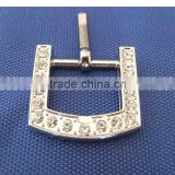 Wholesale 20mm Diamond Square Buckle Pet Collar Alloy Buckles Upscale Rhinestone Dog Collar Buckle