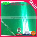 Transparent Clear green powder paint