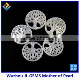 Wholesale new product round genuine shell pearl and shell and the tree of life