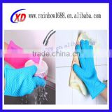 non-stick silicone gloves / silicone baking gloves / heat resistant silicone cooking gloves