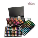 Wholesale High quality popular shine and matte Eye Use and Mineral Ingredient romantic color eye shadow