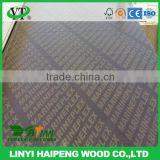 linyi factory cheap 9mm 12mm 15mm 18mm 21mm WBP phenolic gule brown/black film faced plywood(marine plywood)