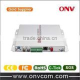 promote outdoor good quality ShenZhen ONV golden supplier 2CH Video Optical Transmitter and Receiver
