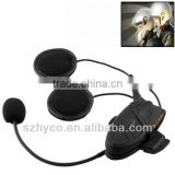 V4i-1200 1200m Bluetooth Interphone Headsets for Motorcycle Helmet, Max Support: Four Riders by Bluetooth System