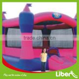 best selling commercial used catsle inflatable bouncer slide for sale inflatable toy panel, banner bouncing animal toy LE.CQ.064