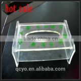 factory directly sale acrylic tissue/napkin box