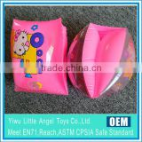 pink inflatable swimming armband for kids