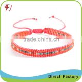 Wholesale top quality stretch band good for health red agate gemstone bracelet