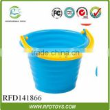 2014 plastic beach pali funny summer toy beach pails and shovels