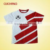 Dri Fit customized sublimated soccer jersey