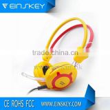 high quality computer headphone usb headset with microphone