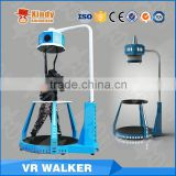 360 Degree interactive game oculus rift VR treadmill 9d cinema electrical motion platform                                                                                                         Supplier's Choice