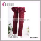 2015Cheap wholesale leg warmers boot cuffs leg warmers with faux fur cuffs winter leg warmers