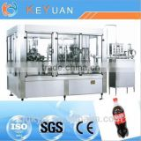 Automatic 3-in-1 Carbonated Drinks Filling Machinery For PET Bottle / Glass Bottle