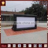 Durable portable outdoor movie inflatable screen for sale