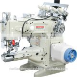 NP 1500-156/AT direct drive cylinder Bed High Speed interlock sewing machine with auto-trimmer