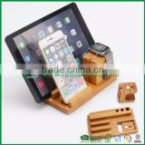 cell phone laptop tablet charging station lockers made of bamboo