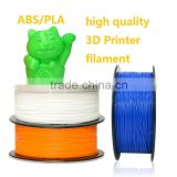 Wholesale 2016 Natural ABS PLA 3D Printing Filament 1.75mm 3mm MakerBot/RepRap/UP/Me 3D printer material DIY 3D kids drawing pen