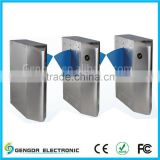 Security gate turnstile barcode reader flap barrier turnstile