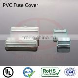 Soft rubber electrical insulation fuse cover for 6*30mm fuse clips