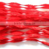 Chirstmas Decoration Red Bumpy Chenille Stems
