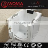 2015 Combo air jet whirlpool shower with spa bath walk in tub