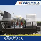 XBM produce aggregate mobile crusher for granite /dolomite /bauxite