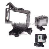 2014 NEW!telesin Fixed Go pro Protective Frame case for go pro 3/3+/4