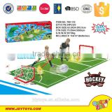 Hot sale plastic ice hockey toy with sound light & music,outdoor sport game ice hockey play game for kids