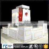 China wholesale customized wooden mirror jewelry cabinet